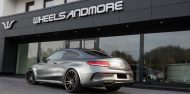 Auspuffanlage C63 AMG W205 Coupe 190x94 Startrack 6.8   680PS Mercedes C63 AMG Coupe C205 by WAM