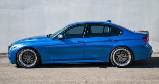 BMW 340i F30 Estoril Blau BBS LM Felgen Tuning 9 310x165 Dezentes Monster   EAS BMW X6M F86 mit Vorsteiner Part's