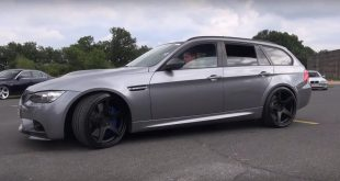 BMW E91 M3 Touring mit S85 V10 Power2 310x165 Video: Perfekt   BMW E91 M3 Touring mit S85 V10 Power