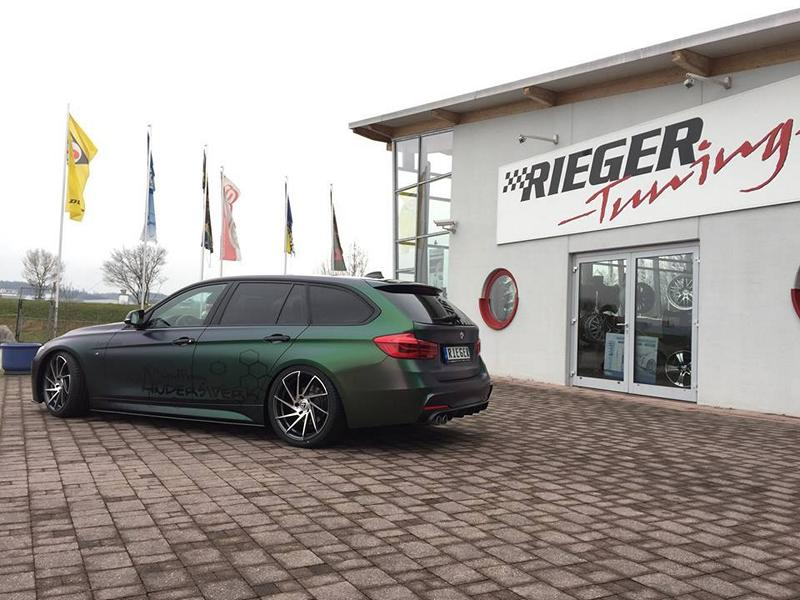 BMW F31 3er XDrive Carbon Bodykit Avery SWF Folierung Tuning 2 BMW F31 3er XDrive mit Carbon Bodykit & Avery SWF Folierung