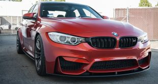 BMW M3 F80 Sakhir Orange Tuning 2 310x165 Carbon Fiber & Co BMW M3 F80 Limo auf HRE Felgen