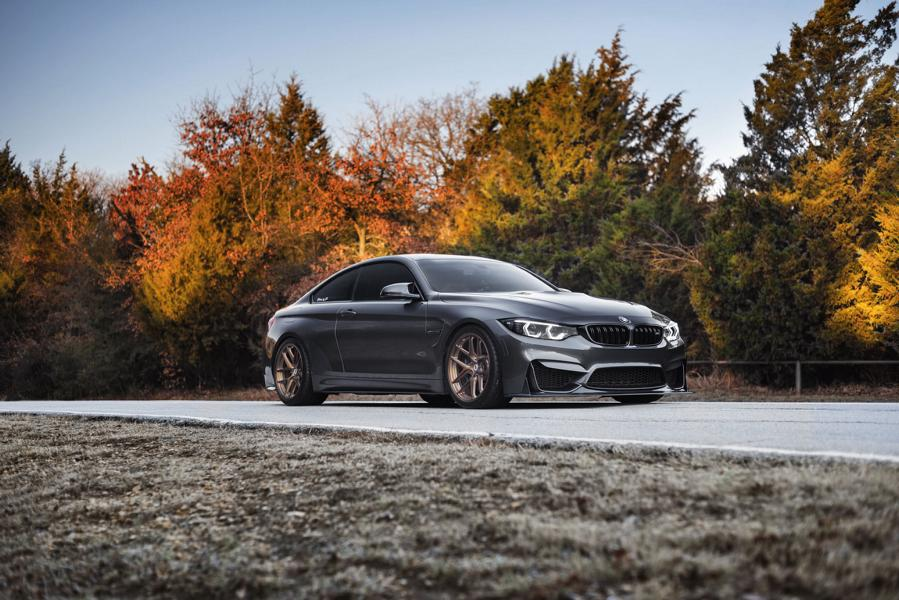 BMW M4 F82 Coupe HRE R101 Felgen Tuning 4 Sehr gelungen   BMW M4 F82 Coupe auf HRE R101 Felgen