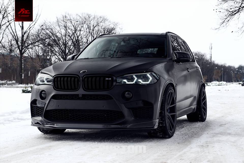BMW X5M F85 mattschwarz Z-Performance ZP.Nine Tuning (6)