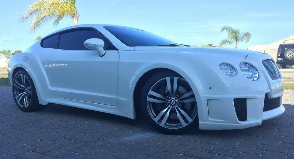 Bentley Continental GT Tuning Ford Mustang S195 Replica 1 Ohne Worte   Ford Mustang wird zum noblen Bentley GT