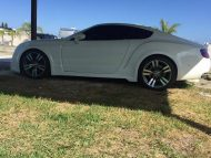Bentley Continental GT Tuning Ford Mustang S195 Replica 2 190x143 Ohne Worte   Ford Mustang wird zum noblen Bentley GT