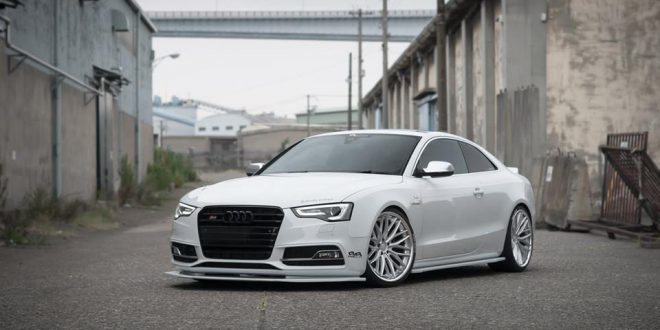 bodykit vossen vws 2 felgen am audi a5 s5 coupe. Black Bedroom Furniture Sets. Home Design Ideas