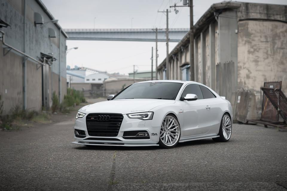 Bodykit Amp Vossen Vws 2 Wheels On Audi A5 S5 Coupe