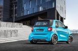 Brabus Ultimate Smart ForTwo 125 Tuning 2017 16 155x103 125PS & 200NM beflügeln den Brabus Ultimate Smart ForTwo