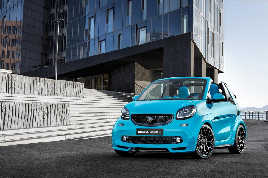 Brabus Ultimate Smart ForTwo 125 Tuning 2017 17 125PS & 200NM beflügeln den Brabus Ultimate Smart ForTwo