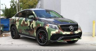 Camouflage Mercedes Benz GLE C292 Tuning Folierung 6 310x165 806 PS Mercedes GLE63 AMGs Widebody von auto dynamics