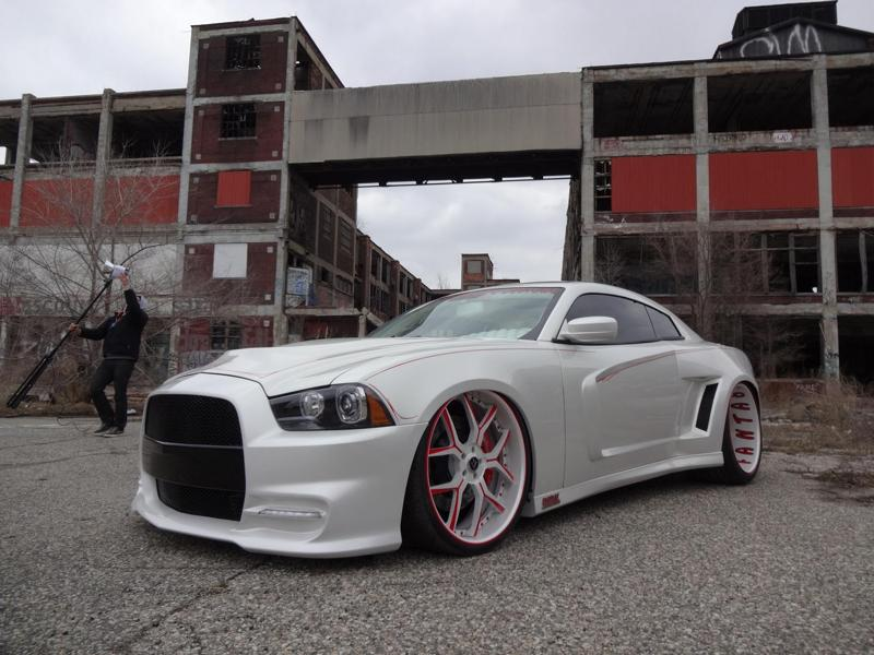 Dodge Charger Widebody Coupe 24 Zoll Tuning 37 Einmalig   Dodge Charger Widebody Coupe auf 24 Zöllern