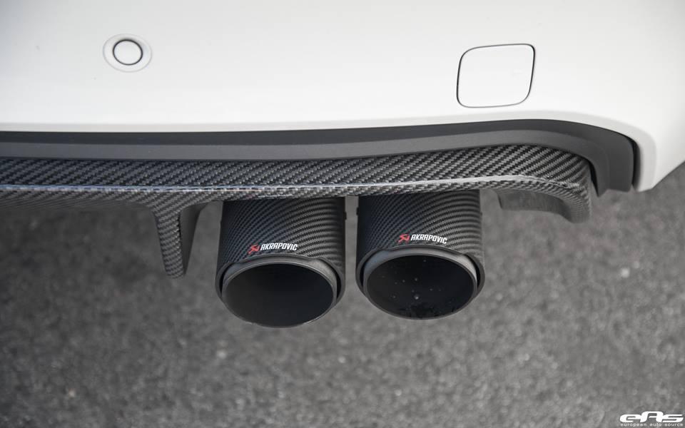 EAS BMW X6M F86 Vorsteiner Akrapovic Tuning 1 Dezentes Monster   EAS BMW X6M F86 mit Vorsteiner Part's