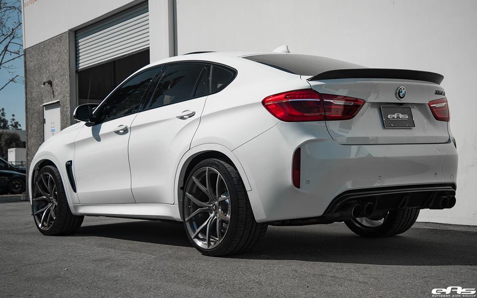 EAS BMW X6M F86 Vorsteiner Akrapovic Tuning 2 Dezentes Monster   EAS BMW X6M F86 mit Vorsteiner Part's