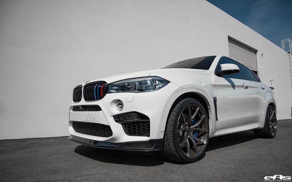 EAS BMW X6M F86 Vorsteiner Akrapovic Tuning 3 Dezentes Monster   EAS BMW X6M F86 mit Vorsteiner Part's