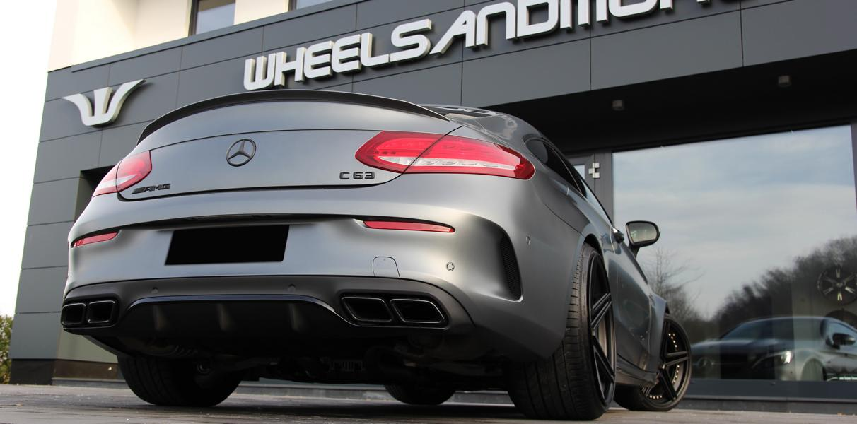 Fahrwerk C63 AMG Coupe Startrack 6.8   680PS Mercedes C63 AMG Coupe C205 by WAM
