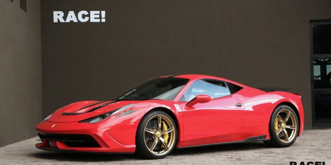 Ferrari 458 Speciale mit Novitec Parts by Race! South Africa