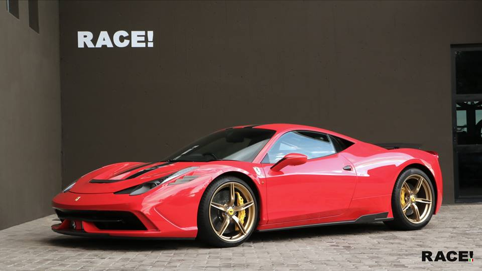 Ferrari Speciale 458 with Novitec parts by Race! South Africa ...