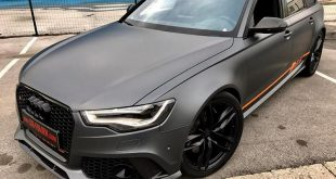Folierung Audi RS6 Daytonagrau Orange Tuning 17 310x165 Daytonagrau Matt am Audi RS6 C7 Avant by BB Folien