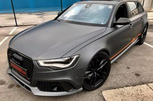 Folierung Audi RS6 Daytonagrau Orange Tuning 17 310x205 Daytonagrau Matt am Audi RS6 C7 Avant by BB Folien