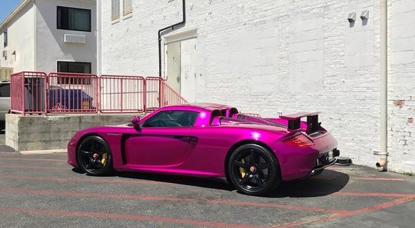 warum nicht porsche carrera gt in pink by rdbla magazin. Black Bedroom Furniture Sets. Home Design Ideas