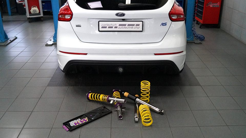 Ford Focus RS Chiptuning 11 cartech.ch puscht den Ford Focus RS auf 420PS & 590NM