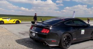 Ford Mustang Shelby GT350 dragrace C7 Z06 310x165 Mit 525 PS Biturbo V6   Shelby Baja Raptor Ford F 150