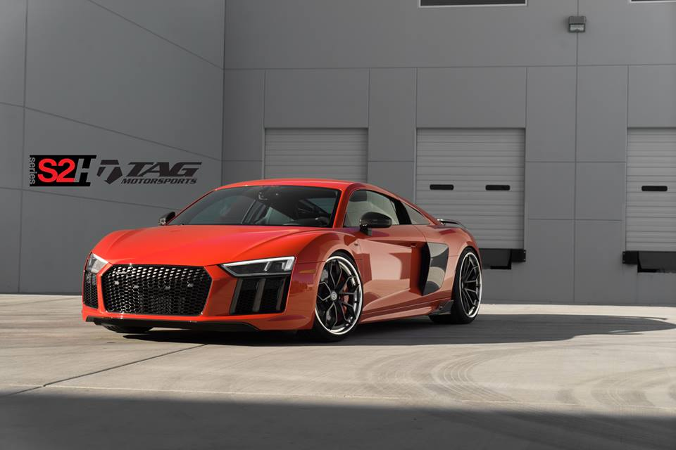 Hre Wheels S2h The Red Audi R8 V10 Increase Of Tag Motorsports