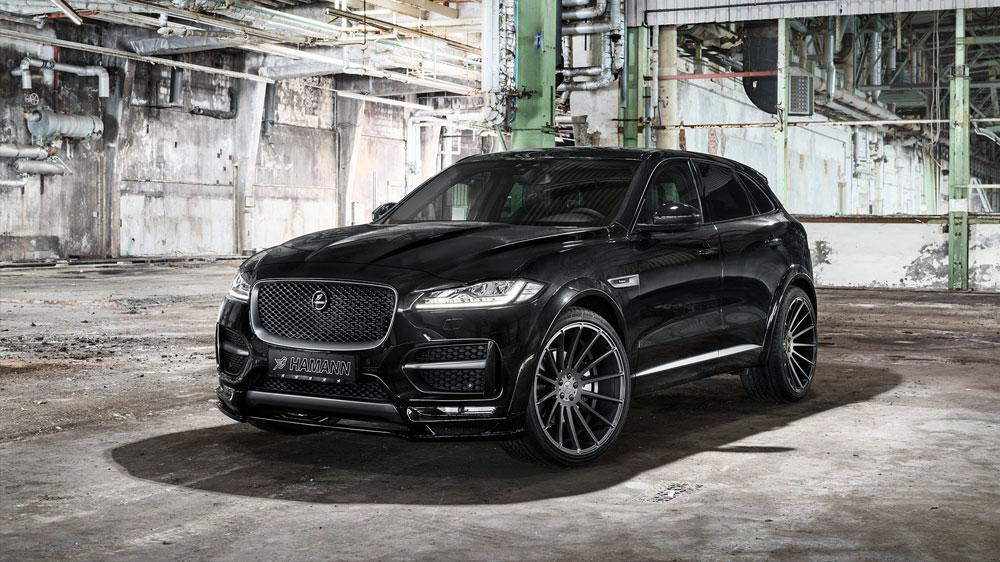 Hamann Motorsport Widebody Jaguar F Pace 2017 Tuning 2 Premiere! Hamann Motorsport Widebody Jaguar F Pace