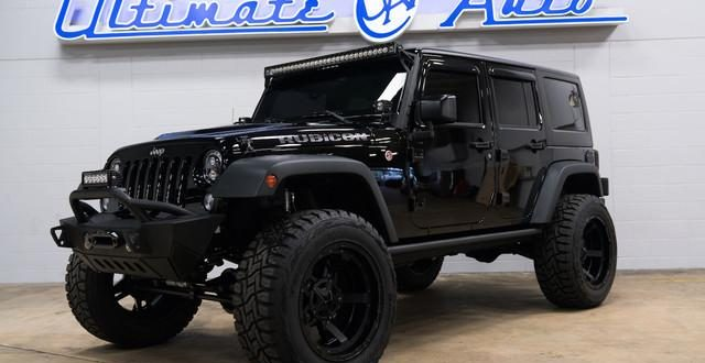 Jeep Rubicon 2017 Tuning >> For Sale Pitch Black Jeep Wrangler Rubicon Hard Rock