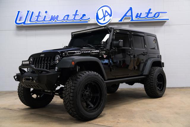 for sale pitch black jeep wrangler rubicon hard rock. Black Bedroom Furniture Sets. Home Design Ideas