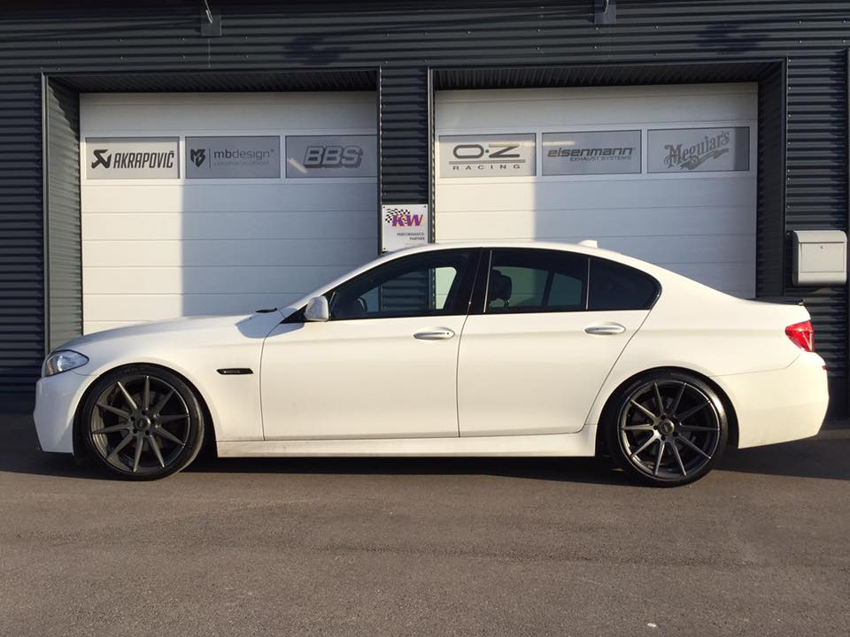 M5 Style BMW 535d F10 Tuning by TVW Car Design 1 M5 Style am BMW 535d F10 vom Tuner TVW Car Design