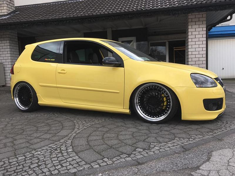 The Yellow Of The Egg The Ml Concept Vw Golf Gti Pirelli 5