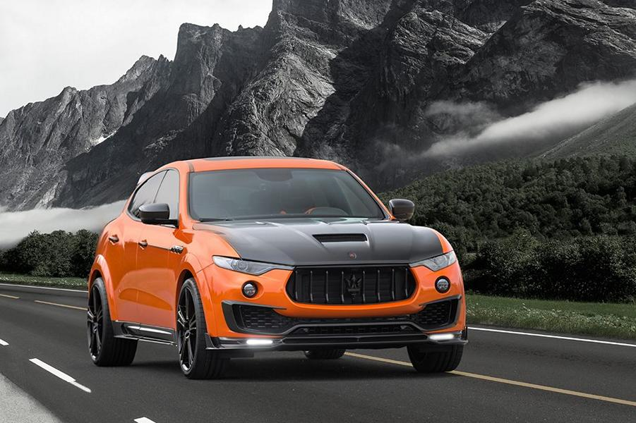 Mansory Maserati Levante Autoshow 2017 Genf Tuning 5 Sehr auffällig   Mansory Maserati Levante zur Autoshow in Genf