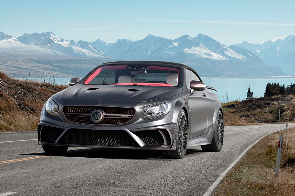 Mansory Mercedes Benz S63 AMG Cabrio A217 Tuning 3 Mansory Mercedes Benz S63 AMG Cabrio A217 in GENF
