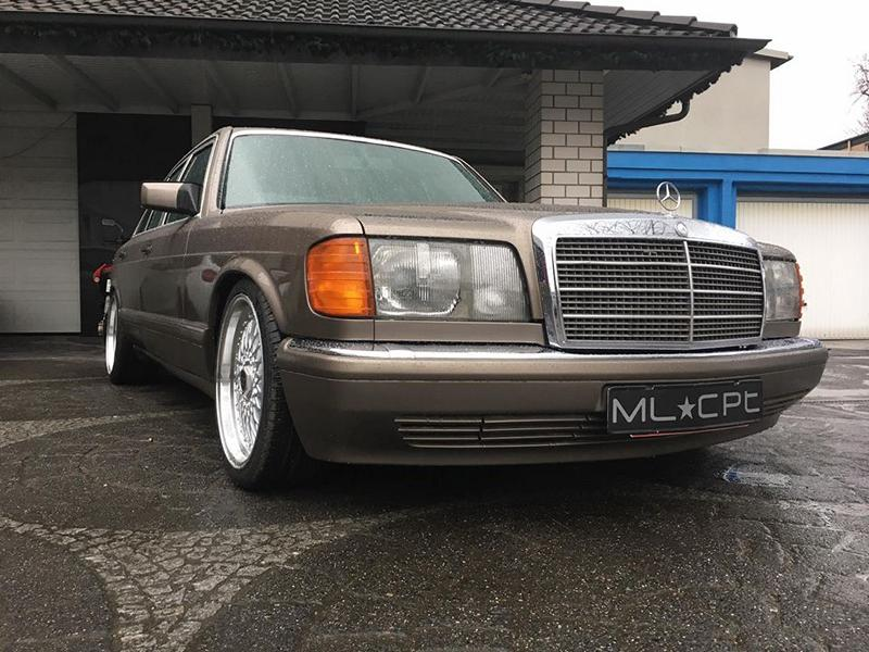 Mercedes benz s class w126 18 inch h r tuning 1 for Mercedes benz 440