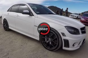 Mercedes C63 AMG 545PS 670NM P30 Package 310x205 Video: Mercedes C63 AMG mit 545PS & 670NM dank P30 Package