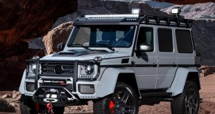 Mercedes G500 4x4%C2%B2 Brabus 550 Adventure Tuning 2 310x165 Brabus   400PS & 500NM auch im Facelift Mercedes A45 AMG
