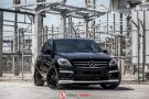 Mercedes ML63 AMG XO Luxury XF1 Felgen Tuning 7 135x90 Mercedes ML63 AMG auf XO Luxury XF1 Felgen in 22 Zoll