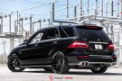 Mercedes ML63 AMG XO Luxury XF1 Felgen Tuning 9 135x90 Mercedes ML63 AMG auf XO Luxury XF1 Felgen in 22 Zoll