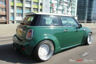 Mini Cooper S Liberty Widebody Rotiform CCV Tuning 1 190x127 Widebody Mini Cooper S auf 18 Zoll Rotiform CCV Alu's