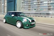 Mini Cooper S Liberty Widebody Rotiform CCV Tuning 2 190x127 Widebody Mini Cooper S auf 18 Zoll Rotiform CCV Alu's