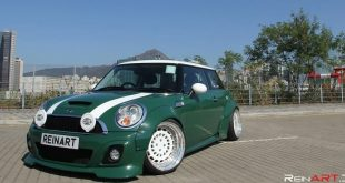 Mini Cooper S Liberty Widebody Rotiform CCV Tuning 310x165 Widebody Mini Cooper S auf 18 Zoll Rotiform CCV Alu's