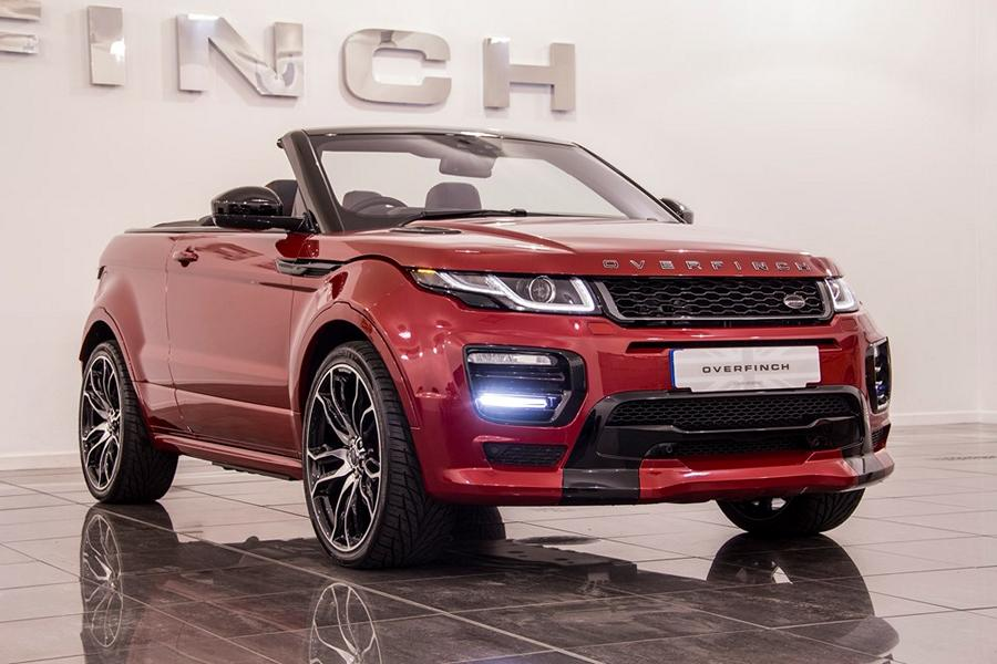 range rover evoque cabrio vom tuner overfinch magazin. Black Bedroom Furniture Sets. Home Design Ideas