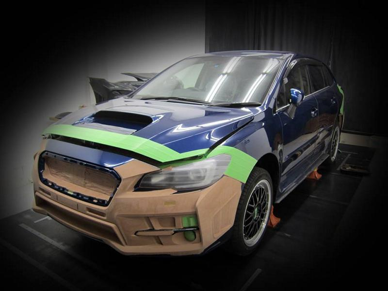 Rowen International Subaru Levorg Bodykit Tuning 1 Preview: Subaru Levorg RR from tuner Rowen International
