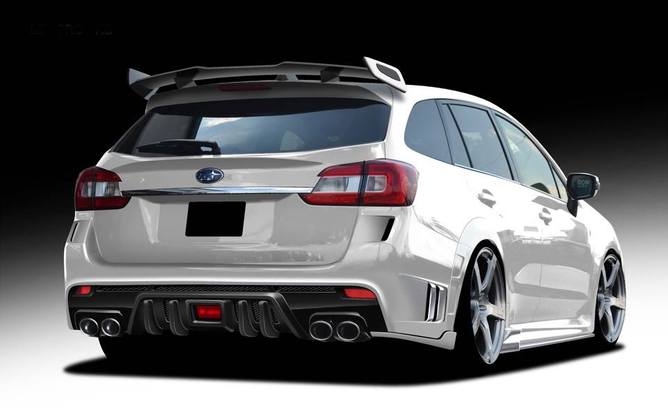 Rowen International Subaru Levorg Bodykit Tuning 3 Preview: Subaru Levorg RR from tuner Rowen International