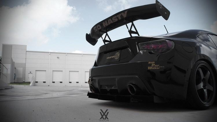 Scion FR S widebody tuning 21 Full House   Extremer Scion FR S Widebody by ModBargains