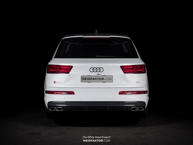 """The White Pearl Project"""" Audi SQ7 4M Tuning by Neidfaktor 1 """"The White Pearl Project""""   Edler Audi SQ7 4M von Neidfaktor"""