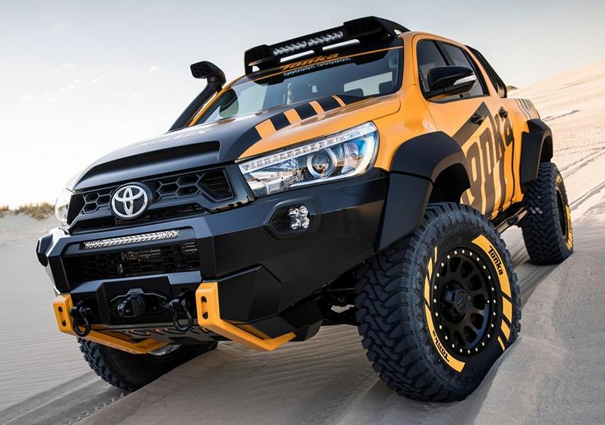 Powerful Part Toyota Hilux Tonka Concept On 35 Z 246 Llern