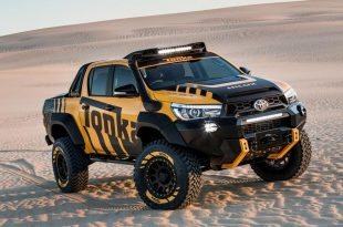 Toyota Hilux Tonka Concept 2017 Tuning 8 310x205 Mächtiges Teil   Toyota Hilux Tonka Concept auf 35 Zöllern