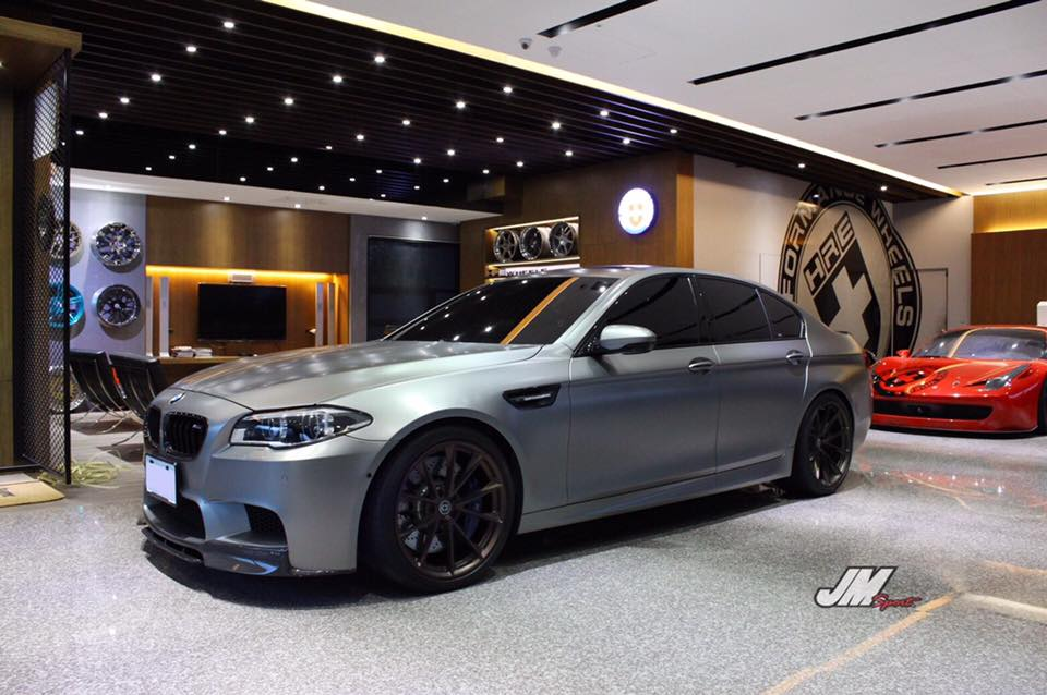 Hre Performance Wheels P204 On Bmw M5 F10 30 Years